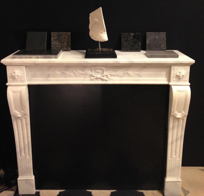 cheminée Louis XVI carrare